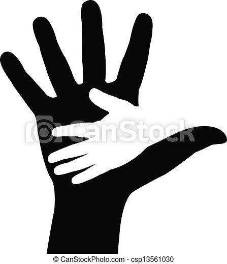 helfende hände - csp13561030