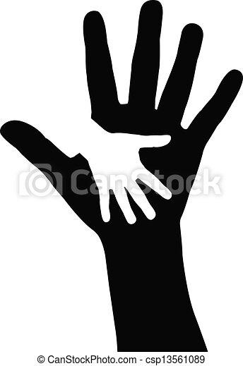 helfende hände - csp13561089