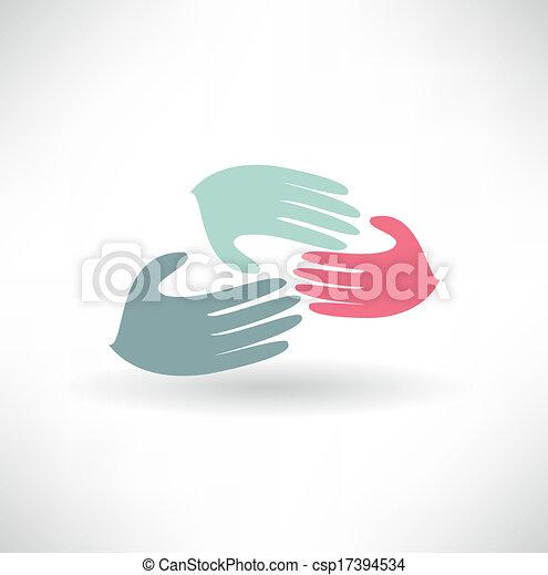 helfende hände - csp17394534