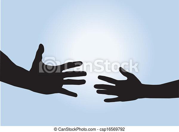Helfende Hände - csp16569792