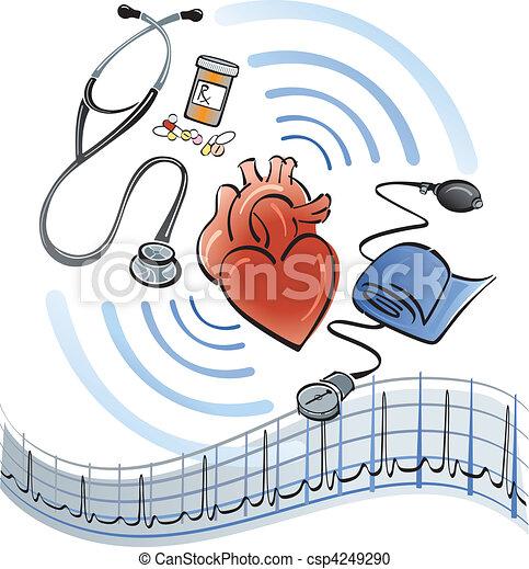 Herzversorgung - csp4249290