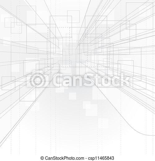 hintergrund, perspektive, grobdarstellung - csp11465843