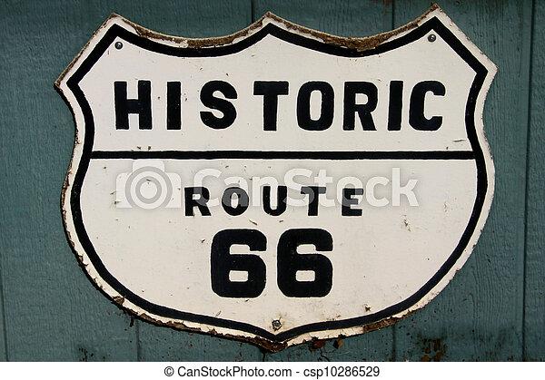 Historische Route 66 - csp10286529