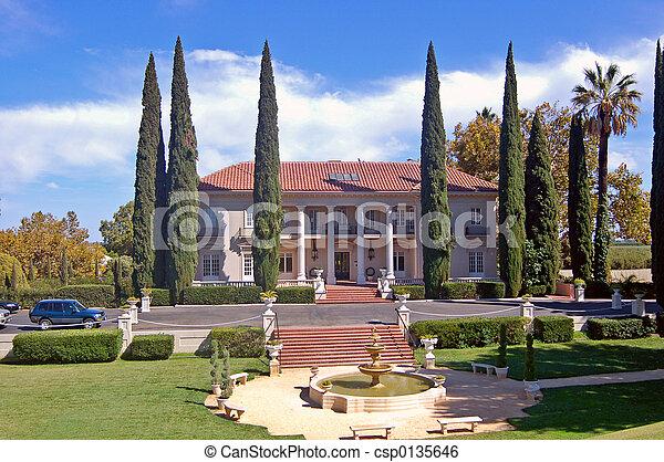 Historische Villa - csp0135646