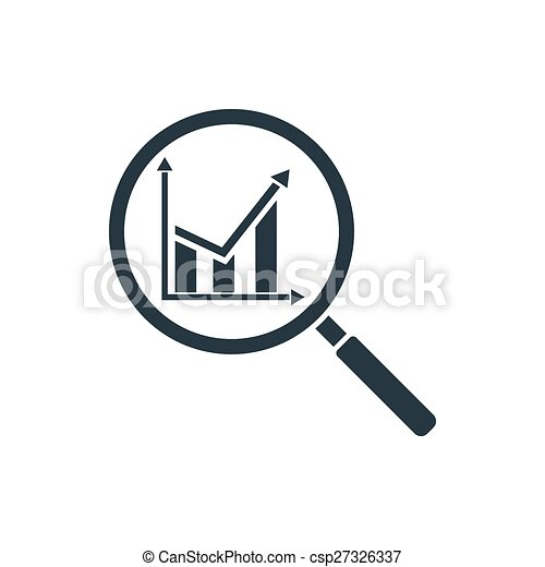 Icon-Analitiker. - csp27326337