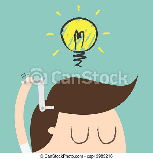 Ideen - csp13983216
