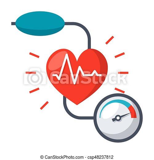 Blutdruck-Ikone - csp48237812