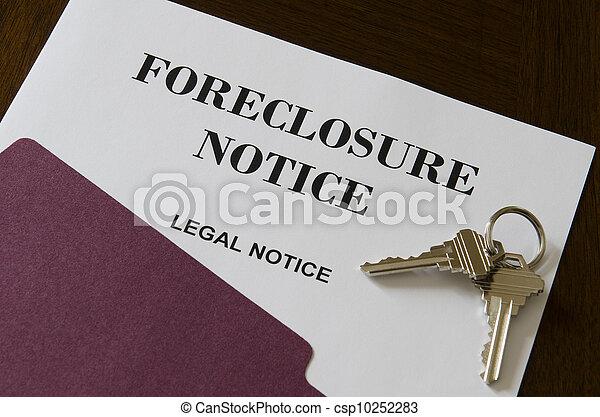 Immobilienhaus zwangsvollzugsvollzugsrichter und Schlüssel - csp10252283