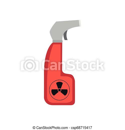 Isoliertes chemisches Sprühbild - csp68715417