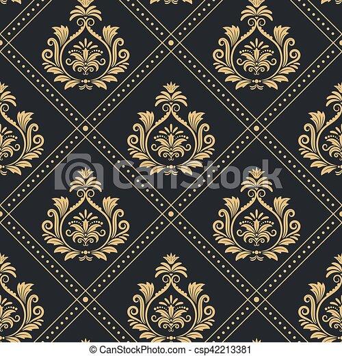 Vektorgrafiken Barock Muster Vektorbilder