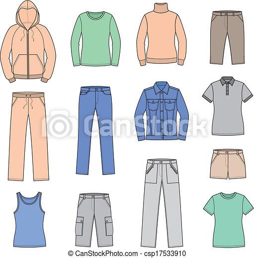 Körperliche Kleidung - csp17533910