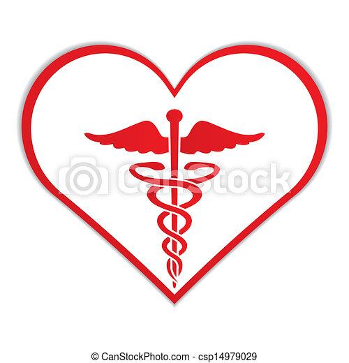 Kadus im Herz-Symbol. - csp14979029