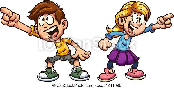 Kartoon Kinder - csp54241096