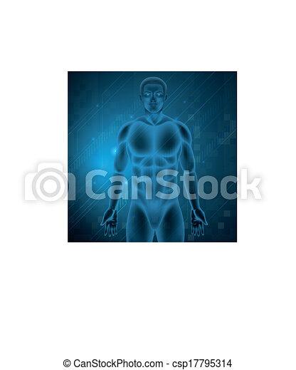 koerper, menschliche  - csp17795314