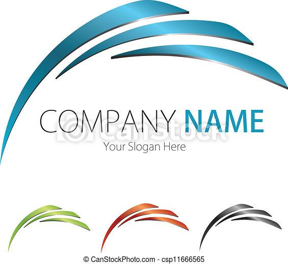 Kompanie (Business) Logodesign - csp11666565