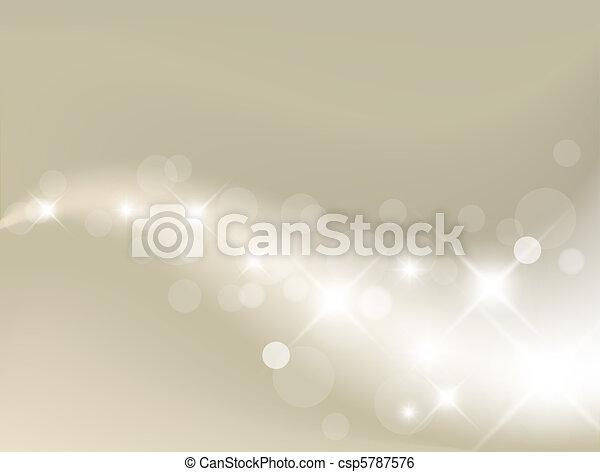 Leichter, silberer Hintergrund - csp5787576