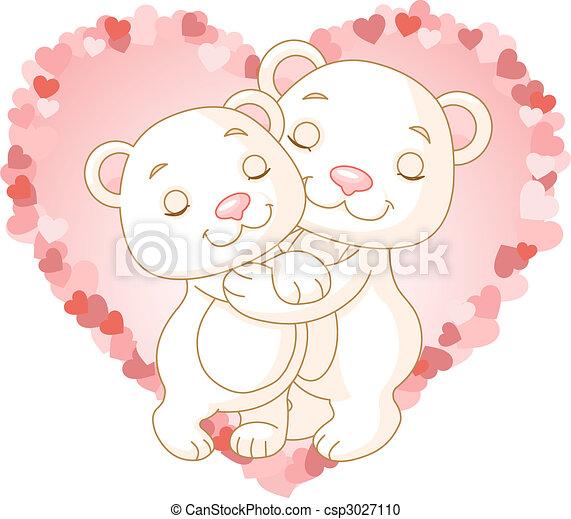 Liebesbären. - csp3027110