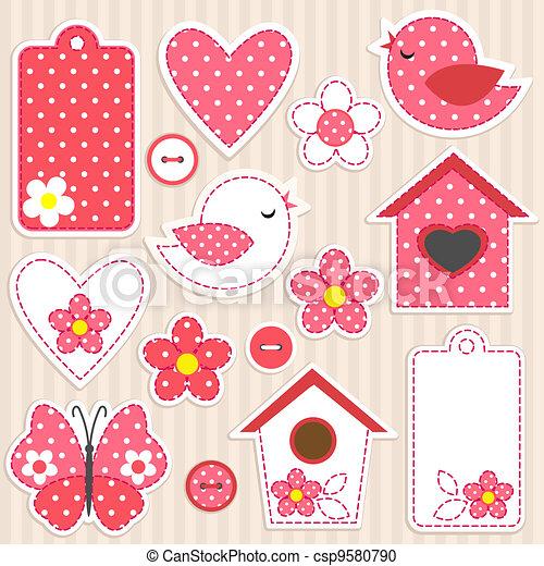 Love Set. - csp9580790