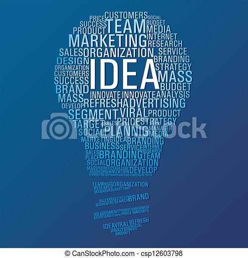 Marketing-Kommunikation - csp12603798