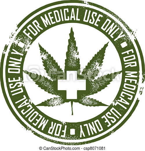 Medizinisches Marihuana - csp8071081