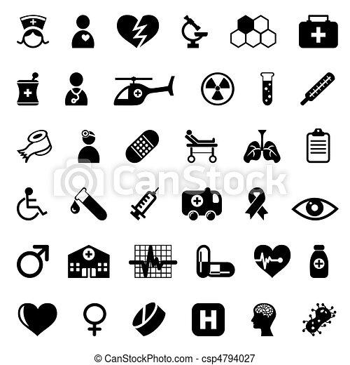Medizinische Ikonen - csp4794027