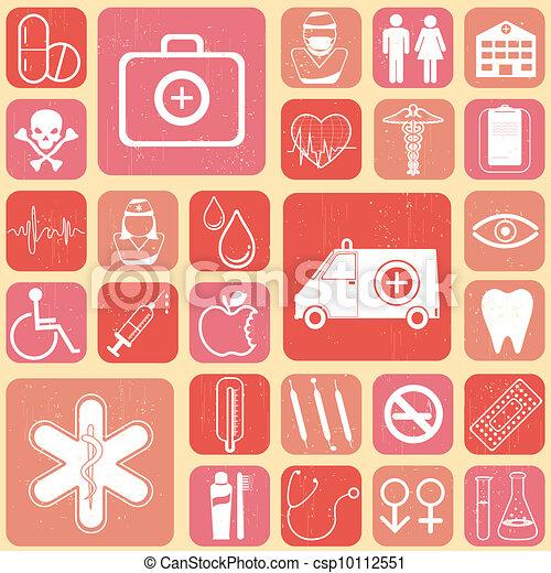Medizinischer Hintergrund - csp10112551