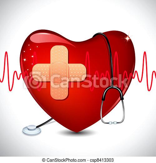 Medizinischer Hintergrund - csp8413303