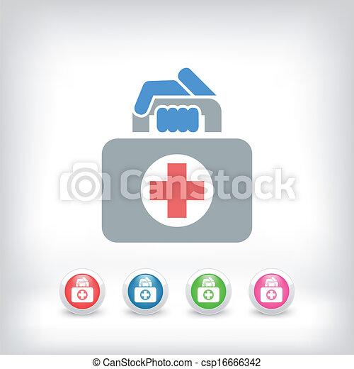 Medizinisches Icon - csp16666342
