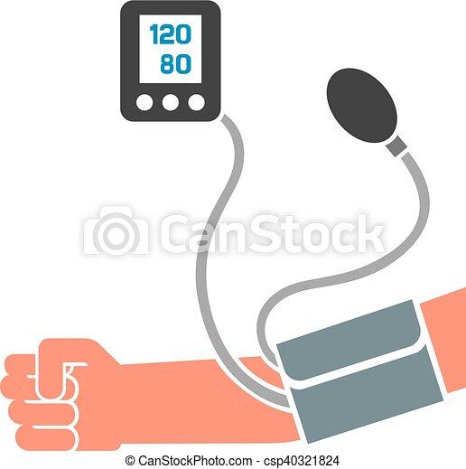 Blutdruck messen - csp40321824