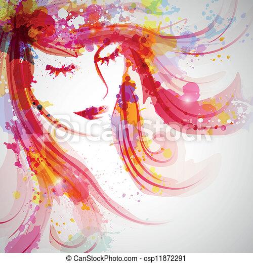 Modefrau - csp11872291