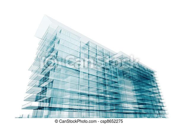Moderne Architektur - csp8652275