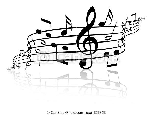 Musik-Thema - csp1826328
