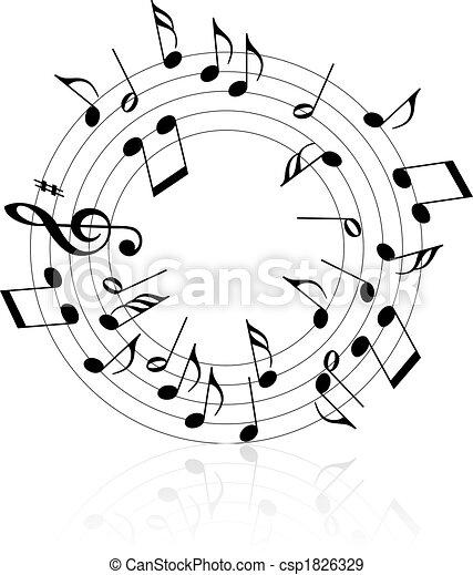 Musik-Thema - csp1826329