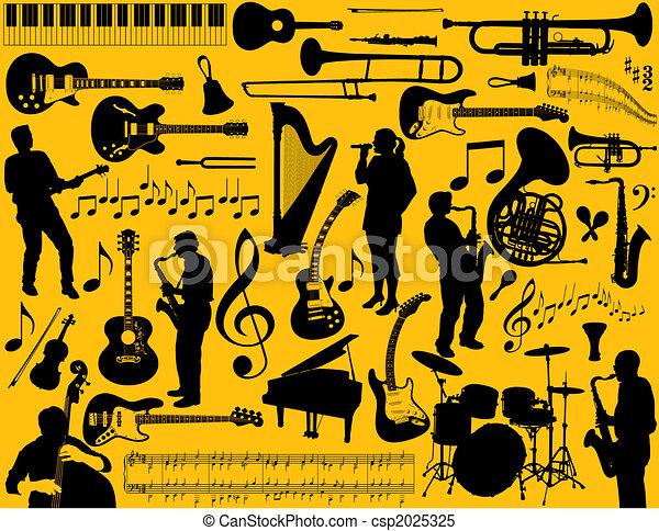 Musikelemente - csp2025325