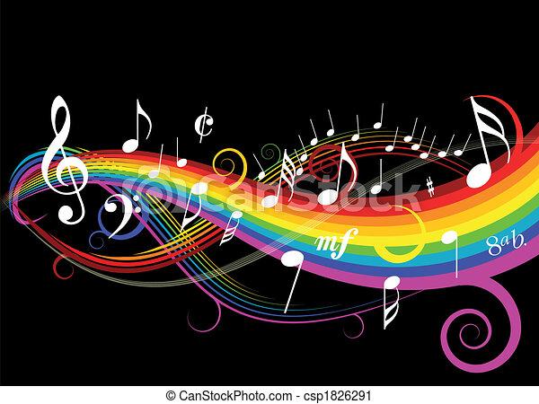 Musikthema. - csp1826291
