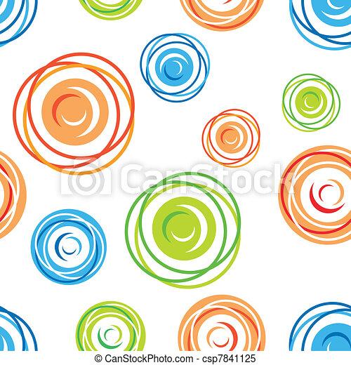 muster, gewirre, seamless - csp7841125