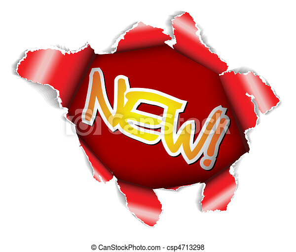 Neuer Label - csp4713298