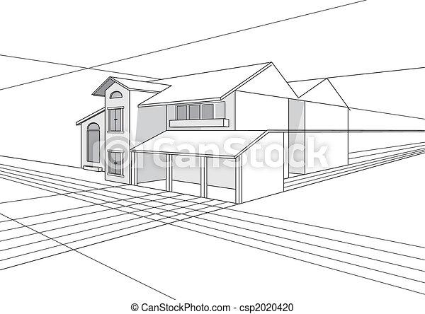 Bauplandesign - csp2020420