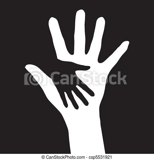 portion, hands. - csp5531921
