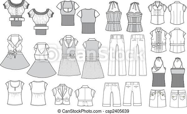 Mode-Artikel - csp2405639