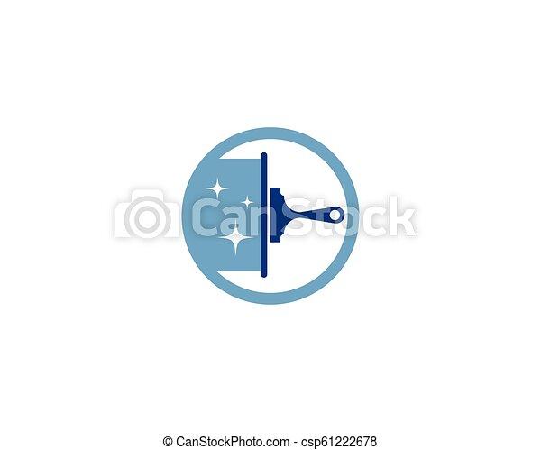 Hausreiniger-Logo - csp61222678