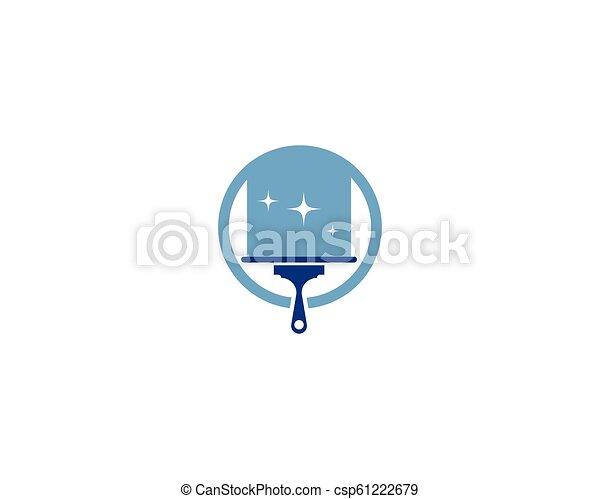 Hausreiniger-Logo - csp61222679