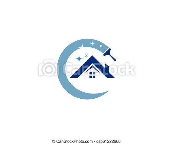 Hausreiniger-Logo - csp61222668