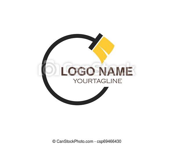 Hausreiniger Logo-Vektor - csp69466430