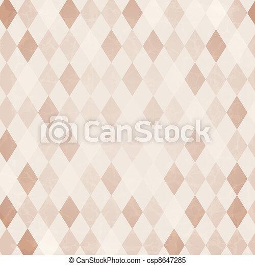 Retro harlekin Hintergrund - csp8647285