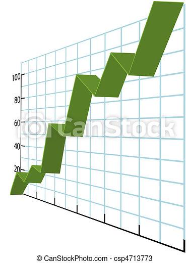 Ribbon zeichnet hohe Wachstumsdaten aus - csp4713773