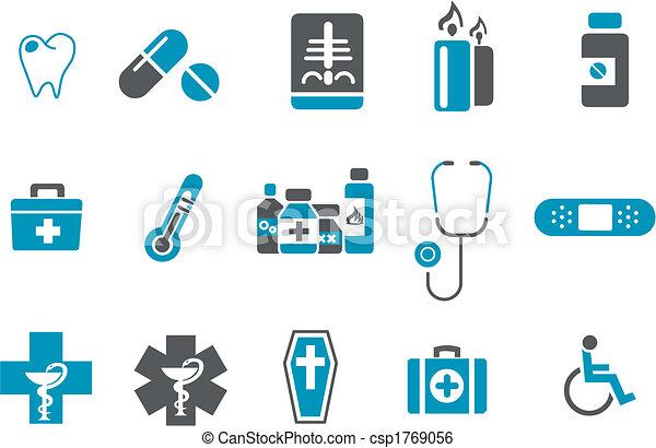 Gesundheits-Ikone eingestellt - csp1769056