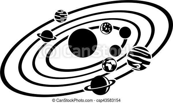 Sonnensystem. - csp43583154