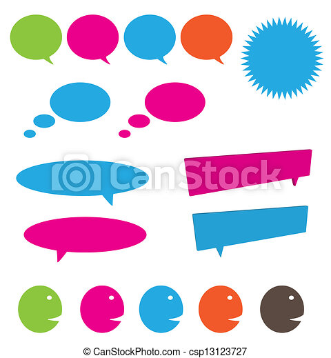 Sprich und denke an Blasen - csp13123727