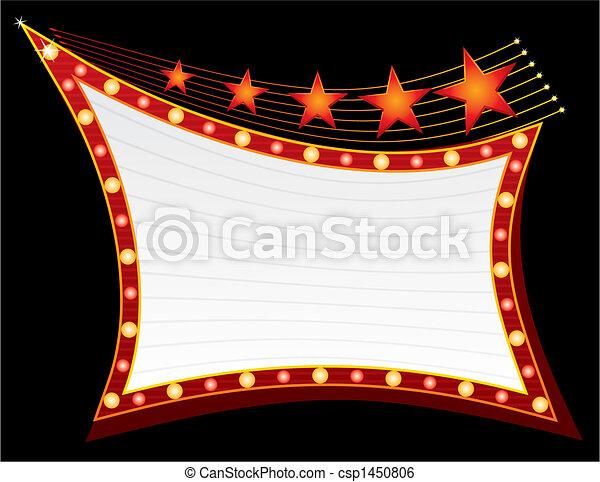 Stars auf Neon - csp1450806